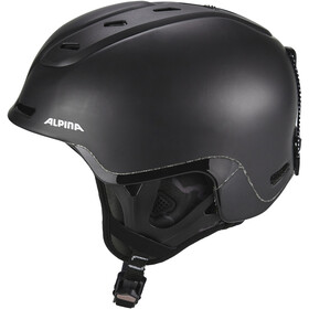 Alpina Spine Casque de ski, black matt